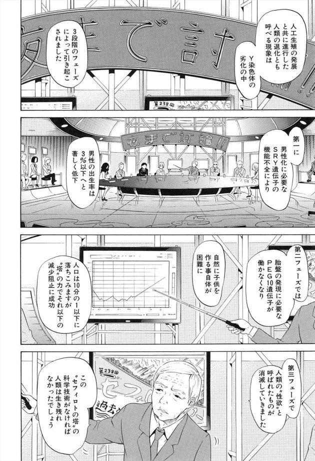 【エロ漫画】人工的に子供を作れるようになり、性欲を無くしてしまった未来の世界!【無料 エロ同人】 (8)