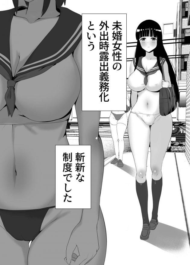 【エロ同人誌】とある世界に存在する国「日本」。そこでは過度なまでの少子高齢化問題に直面していた。【無料 エロ漫画】 (3)